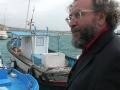 Boot der Illegalen Hafen Sciacca
