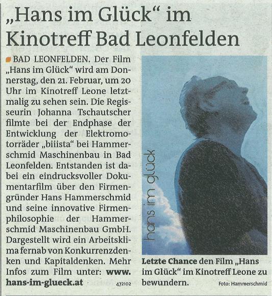 13_02_Hans im Glück-Kinotreff Leone_Rundschau