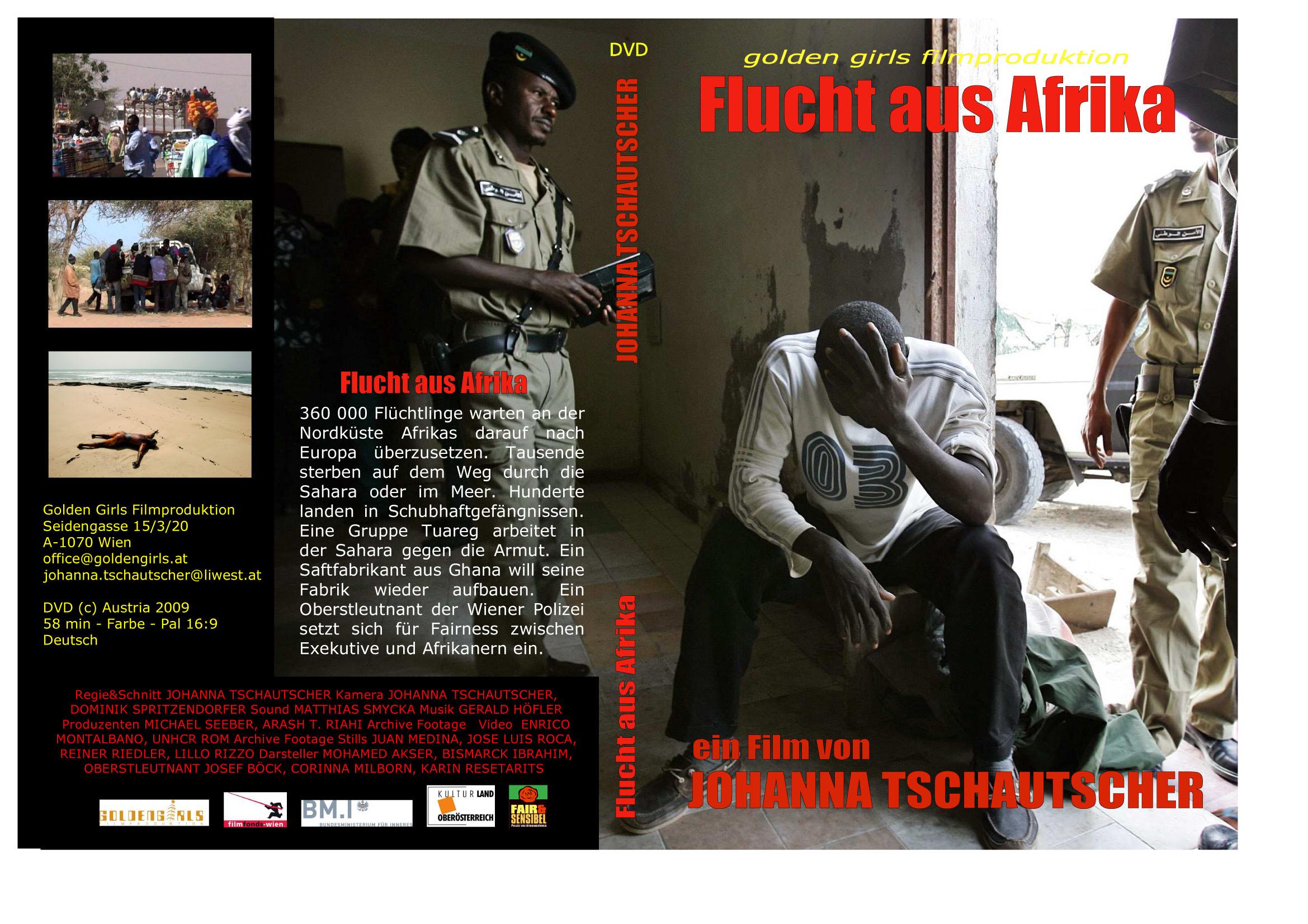 Flucht aus Afrika Cover