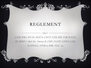 """Dokumentarfilm Entwicklung """"Reglement"""""""